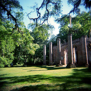 Old Sheldon Church Ruins, South Carolina 2014