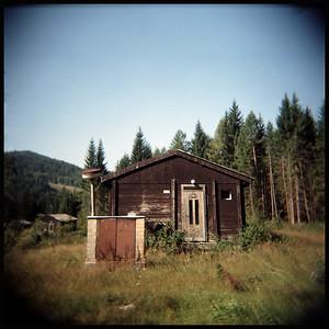 cold war era cabin/relic, Banská Bystrica, Slovakia