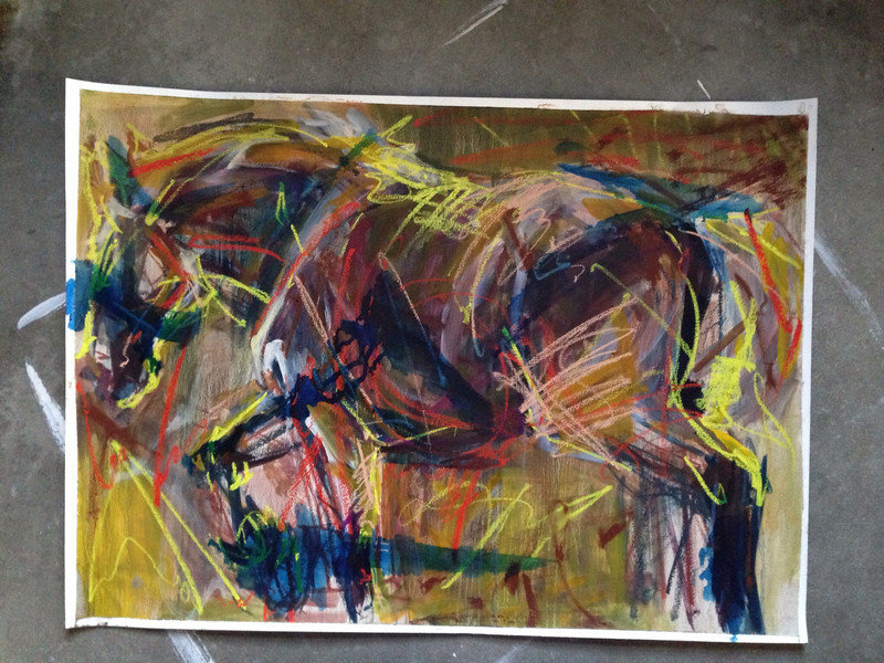 Horse in Reeds