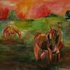 Horses at Dawn