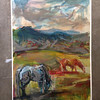 Colorado- Oil on Lenox- SOLD