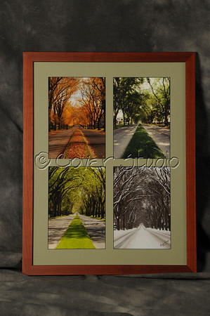 Custom Matting and Framing.  Luzerne Street Composite