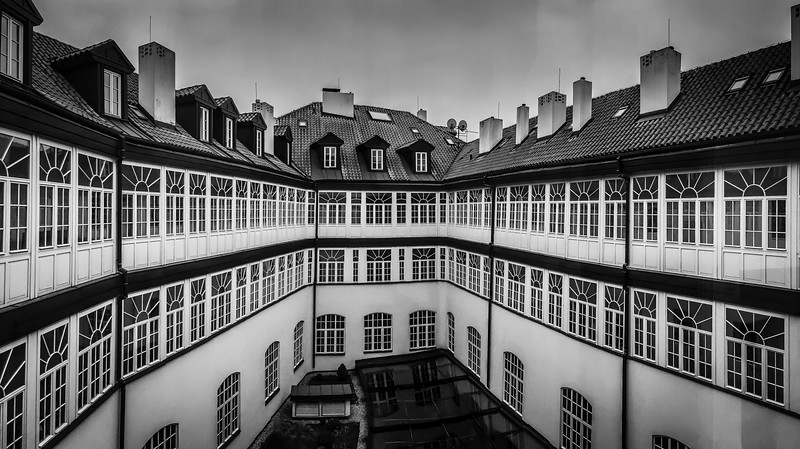 Barceló Old Town Prague - Courtyard