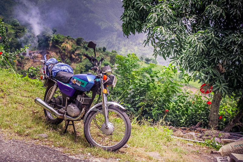 Mountain Motorcycle