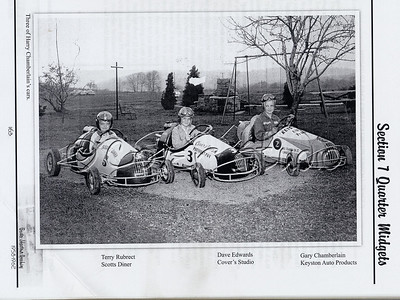 Historic Go Carts and Drivers