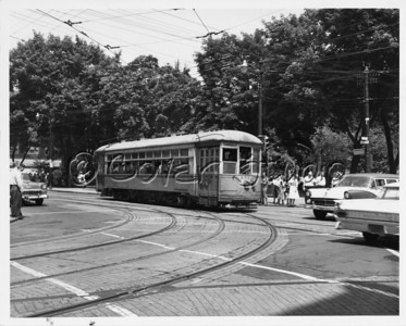 Trolley on Main and Franklin Street