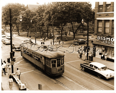 Trolley on Main Street