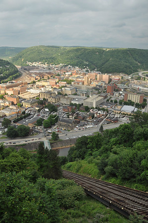 Johnstown, PA during Thunder in the Valley