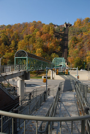 Johnstown's Incline Plane in Autumn