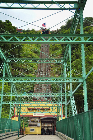Johnstown's Incline Plane Bridge Entrance
