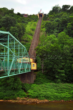 Johnstown's Incline Plane in Summer