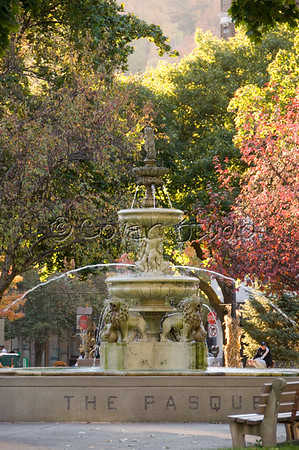 Johnstown's Central Park in Autumn