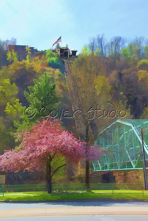 Vivid Scenic Art Johnstown Incline Plane