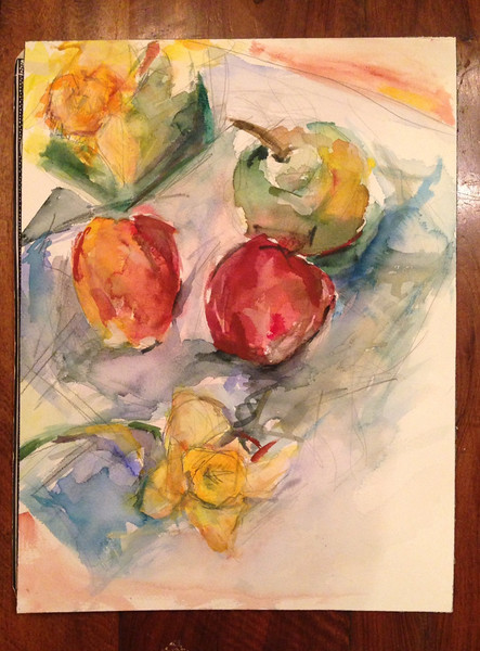 Apples and Daffodils
