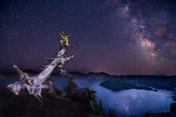 Milky Way Reflections - Crater Lake