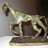 Trot Bronze Horse