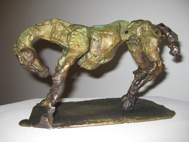 Bowing Horse- SOLD