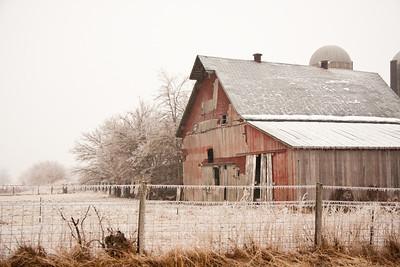Iced Barn