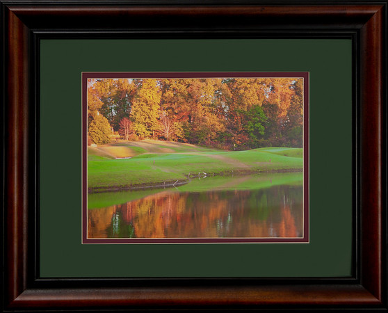 "This is a 16""x20"" framed & matted photograph enhanced to look like a watercolor painting.  It is of the 12th hole at Devil's Ridge.  It is priced at $125 and will be hanging in Devil's Ridge renovated club house next May.  This has been the most pupolar of the Devils Ridge photos.  Get an early release soon :>)!! http://www.teewayne.com  .teewayne photography Cary, NC Photographer, Cary, NC Gallery  - © TeeWayne Photography"