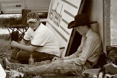 Helmville Rodeo original 104