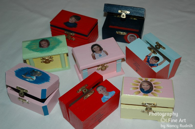 Tiny boxes for the grandkids
