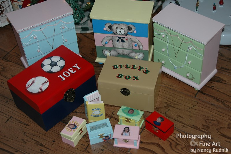 Boxes for Christmas presents