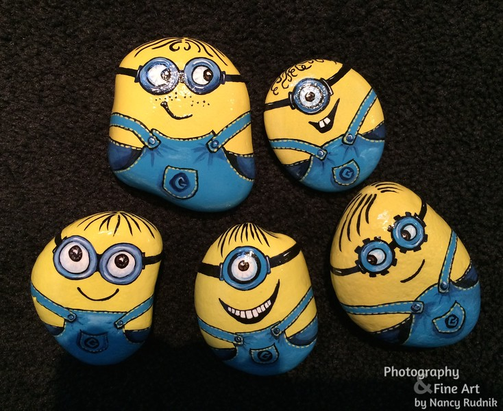 Fronts of Minions