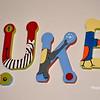 Luke's nursery wall letters