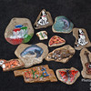 painted stones fro Redbud Valley, OK, and a creek near Nashville, TN