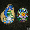 Peacock and Owl rocks