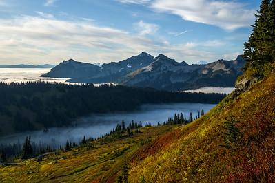 Cascades Range Sunrise
