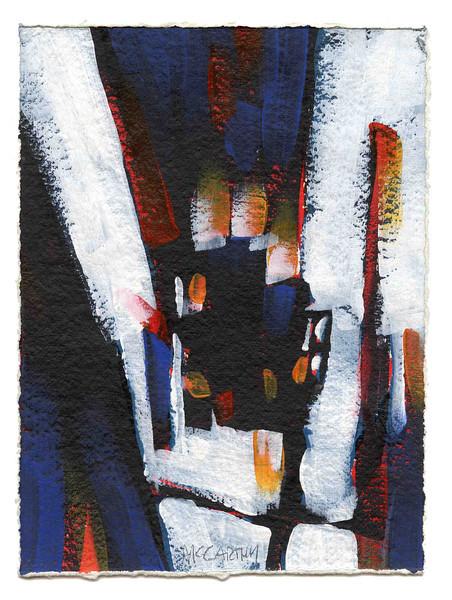 """Study for: """"Forsaken"""" - 2012 - Acrylic on Paper"""