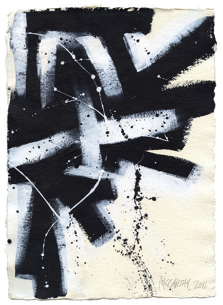"""Babylon"" - 2011 - 12""x16"" - Acrylic on Paper"