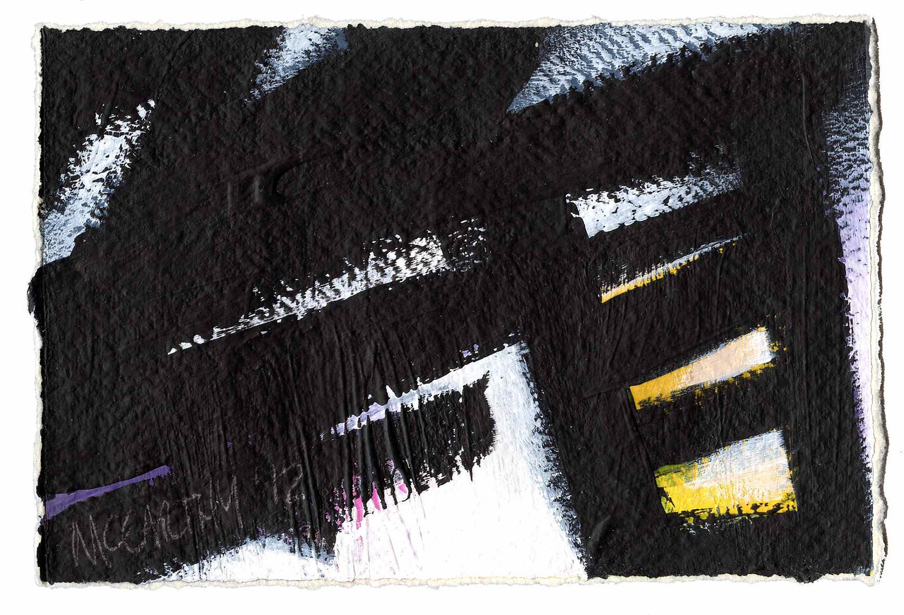 """Study for: """"May 4th"""" - 2012 - Acrylic on Paper"""