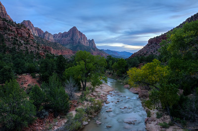 Blue Hour Zion