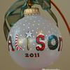 small glass ornament name