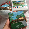 House ornament and tiny house canvas