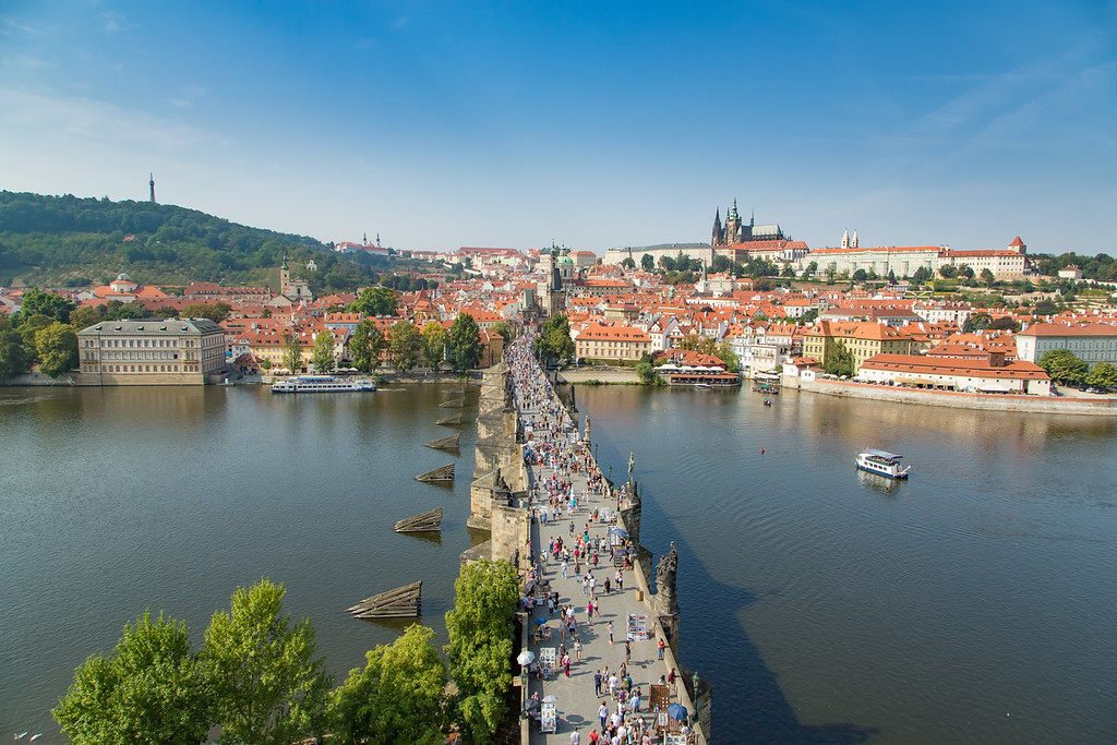 Charles Bridge & Petrin