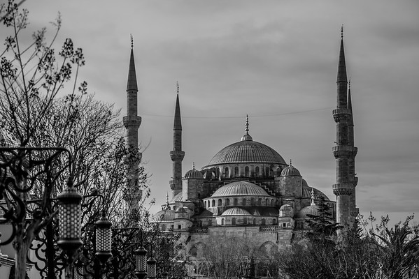 Blue Mosque and Minarets