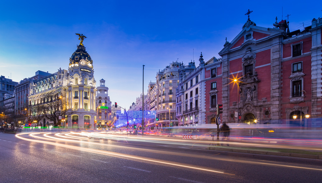 Madrid Blue Hour