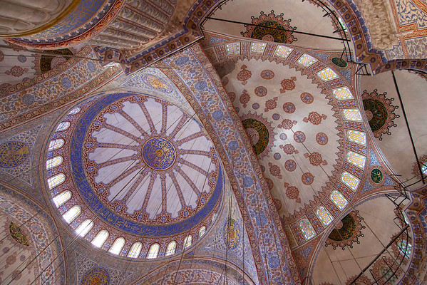 Blue Mosque - Inside