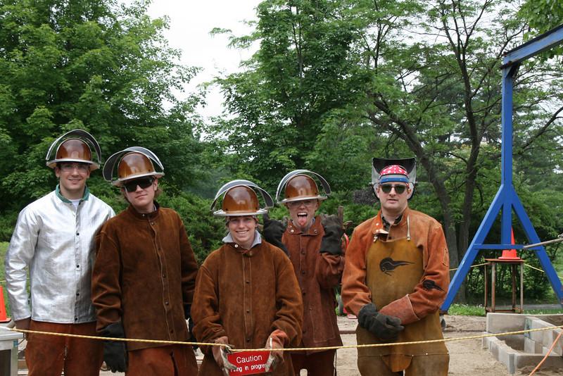 Bronze Casting Team 2009