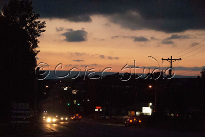 Sunsets over Johnstown, Pennsylvania