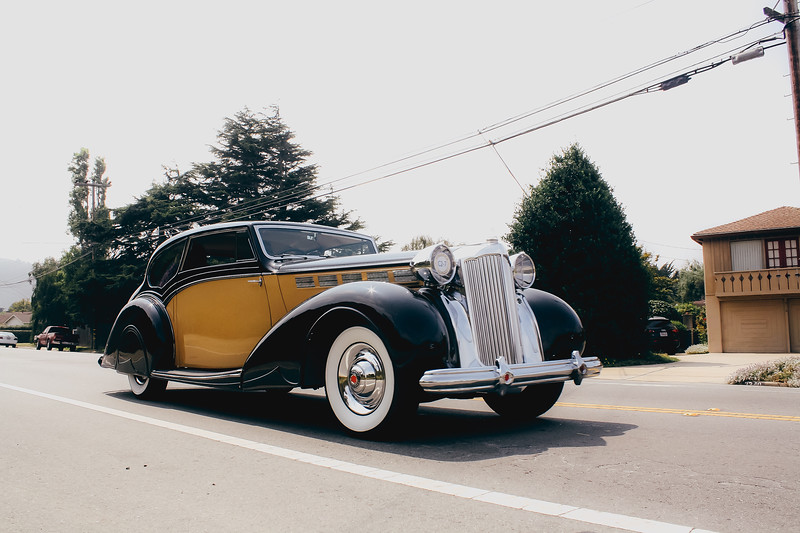1938 Packard 1604 Super Eight Mayfair Coupe