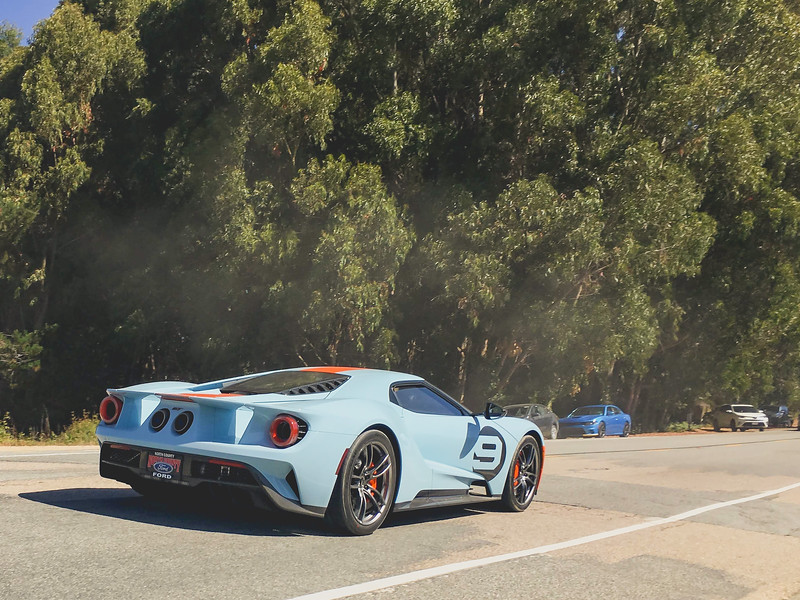 Ford GT with Gulf Livery