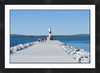 "Summer in Petoskey<br /> <br /> Cropped to 24""x36""<br /> <br /> Double matted with black frame<br /> 2 inch mat - 2 inch frame"