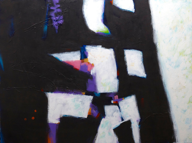 """Elegy"" - 2011 - 48""x36"" - Acrylic on Canvas"