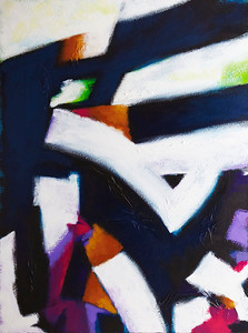 """No Exit"" - 2011 - 36""x48"" - Acrylic on Canvas"