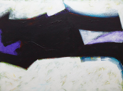 """In the Plaza"" - 2011 - 48""x36"" - Acrylic on Canvas"