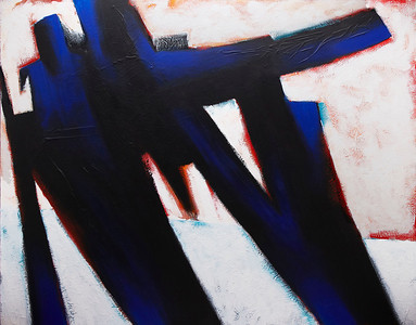 """Event Horizon"" - 2011 - 60""x48"" - Acrylic on Canvas"